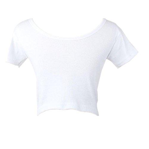 Fille Tees Chic Shirt Manches Base Femme Pas Femme Femme Bustier Vetement Cher Top Et Haut T Classique T Courtes Chic de t Shirt Chemise Tops Mode Chemisier Blouse Blanc AIMEE7 t tq6YFxEwq