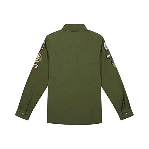 decps0071 608 Deus Deus Shirt Machina Over Ex Monty Verde Deus Zw7zf60n