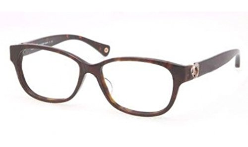 Coach Amara Eyeglasses HC6038 5001 Dark Tortoise Demo Lens 51 14 135