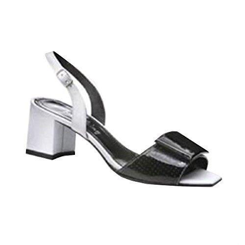 Sandalette Pour Femme Noir Schwarz Iaw Sandales dZxH8dq