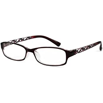7395a3b40a1 Amazon.com  EyeBuyExpress Shield Brown Reading Glasses  Health ...