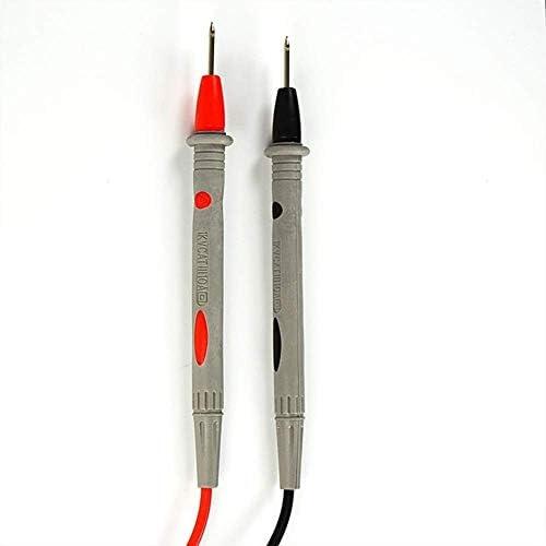 GJNVBDZSF Multimeter Multimeter, Digital Electrical Tester Plastic Multimeter Pen MCH-9012 15mm Needle Crosshead Socket for All Multimeters High Precis