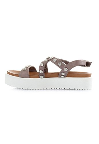 nbsp;Grey Sandales 6098 Femme Inuovo Footlights 7w6gXvqxx