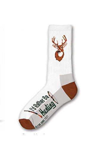 Deer Socks (Deer Hunting Large Adult Socks)
