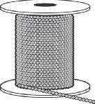 Hy-Ko Ball Chain Aluminum Reel 10
