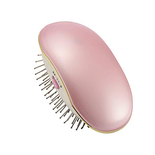 symboat cepillo iónico Secador portátil Ionic Hairbrush Takeout Mini cepillo de masaje masaje peine el cuidado Cabello Carlos viaje a la asistencia, ...