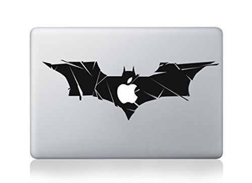 Batman Superman Logo Full Size Large Bat Wings Cartoon Apple Mac Sticker Skin Decal Vinyl Apple Macbook Pro Air 13 15 17 Inch Retina Laptop Wall