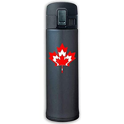 500ml Stainless Steel Insulated Vacuum Travel Mug Strong Sealing Scald Proof Cana Maple
