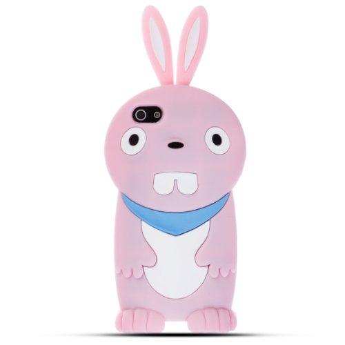 Zooky® Étui coque cover en silicone pour Iphone 5 / 5S