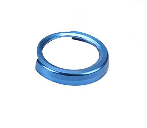 Emblem Trading Start Stop Druckknopf Rahmen Alu Ring Blau 1er 3er 4er F10 F30 F35 GT KK L.L.C
