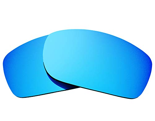 Replacement Lenses Compatible with OAKLEY Fives Squared Polarized Blue ()
