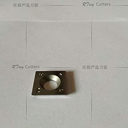 RTing 15mm 4 bords carr/é de remplacement en carbure Insert Cutter,10 St/ück pro Packung 15x15x2.5-30/°-R150-4R0.5