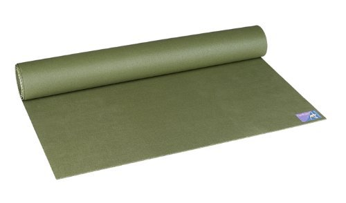 Jade Harmony Professional Yoga Mat Extra Long (Olive Green) by JadeYoga