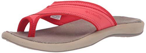 (Columbia Women's KEA II Sport Sandal, red Coral, Cherrybomb, 10 Regular US)