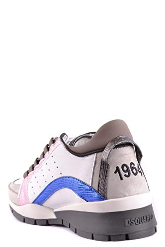 Bianco Pelle S17k5011065m1173 Donna Dsquared2 Sneakers 0wqCBO
