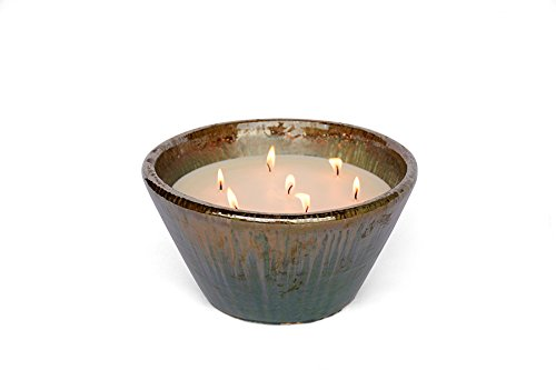 Large Villa - 7 Wick Candle (Green Sunset Citronella) by Flashpoint Candles (Image #1)
