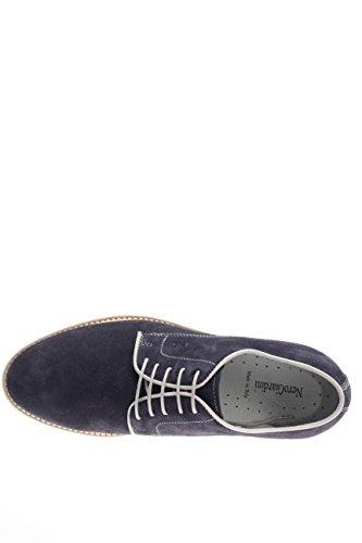 Jeans für Guanto Wildleder Herren nerogiardini und blau Schuhe in weiß Bianco aZUqnAwR