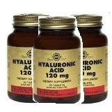 Hyaluronic Acid 120mg - 30 - Tablet-3 Bottle Pack