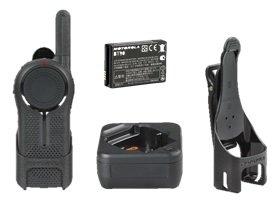 4 Pack of Motorola DLR1020 Two Way Radio Walkie Talkies