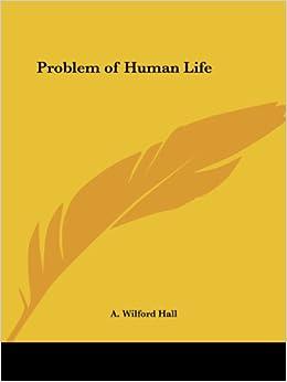 Book Problem of Human Life (1883)
