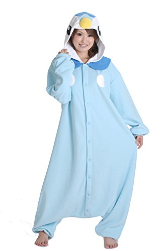 Es Unico Pokemon Piplup Onesie for Adult and Teens (Pokemon Costumes For Teens)