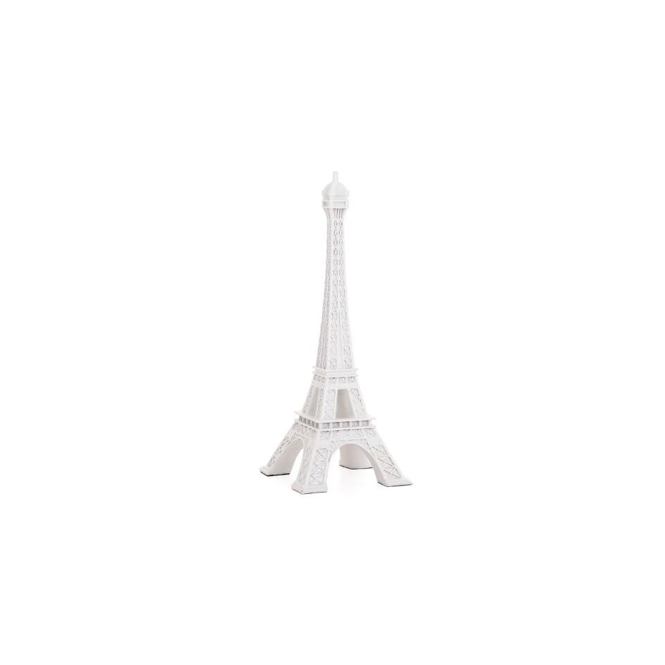 Torre & Tagus 900886 Eiffel Tower Decor Statue, White