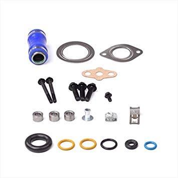 Casavidas 6.0L EGR Kit de juntas de enfriadoras V8 Potencia Diesel Turbo para Ford F-250 F-350 F-450: Amazon.es: Coche y moto
