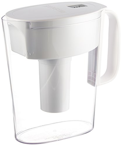 Brita Metro Water Colander Pitcher, White, 5 Cup