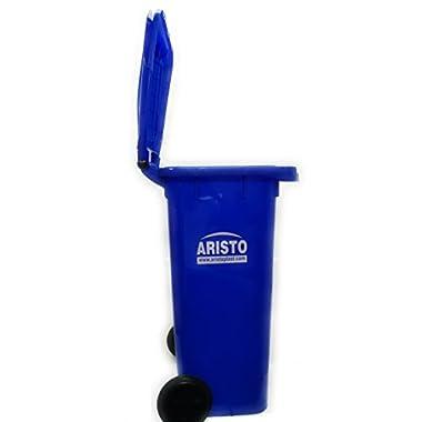 Aristo Wheel Garbage Waste Dustbin 120 Ltr (Blue) 12