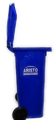 Aristo Wheel Garbage Waste Dustbin 120 Ltr (Blue) 5