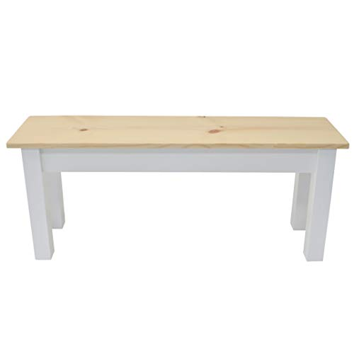 Nantucket Solid Wood Bench 48