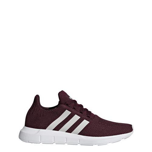 Maroon Grey White 5 adidas Originals Women's Swift Running shoes