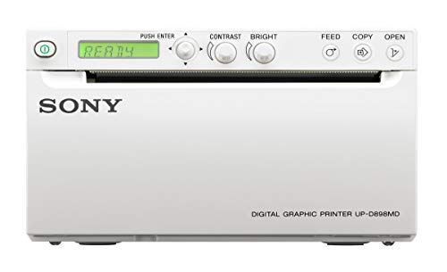 Sony UP-D898 MD Digital A6 Black & White Printer (Compatible with UP-D897)