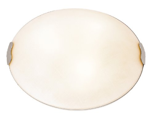 (Access Lighting 23022-BS/TEX 2 Light Linen Flush Mount)