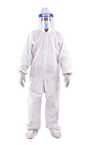 Prifix ppe kit medical Personal Protective Equipment kit - PPE kit (white): Amazon.in: Clothing & Accessories