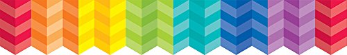 Creative Teaching Press Rainbow Herringbone Borders (0187) -