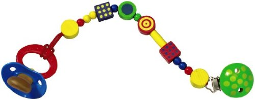 HABA Motley Pacifier Chain, Multicolor ()