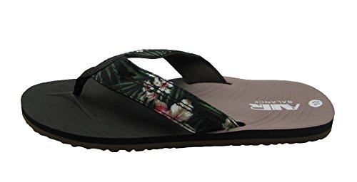 Luft Lette Og Komfortable Menns Stilige Dusj Strand Sandal Tøfler Hawaiian D.brown / Tan