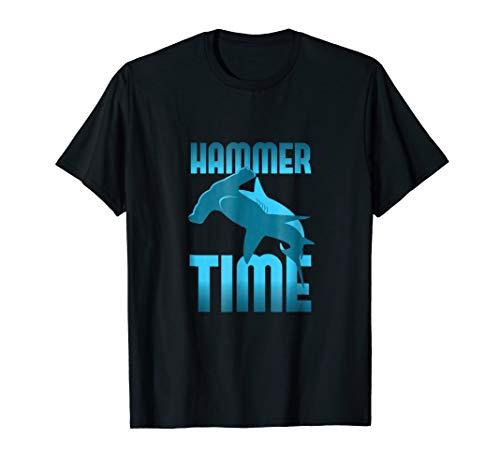 - Funny, Hammer Time Hammerhead Shark T-Shirt