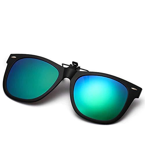 el la Color párrafo D001 Verdadero polarizadas del A Que Gafas Sol de Las Clip Gafas acortan mismas Las a Sol de KOMNY película D y con Mujeres Espejo del del Hombres TR90 cuelgan Manera la de de wpqA1nU