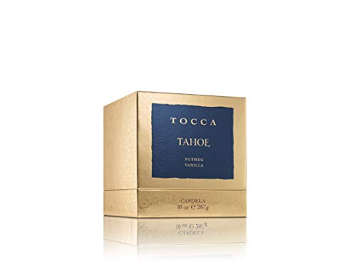 Tocca Tahoe Candle, Nutmeg & Vanilla