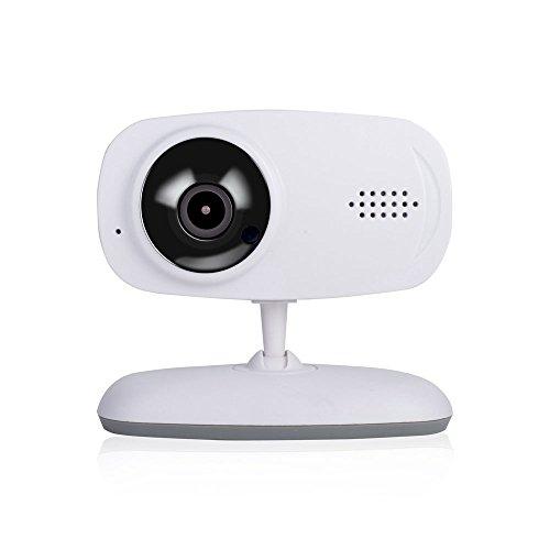 YWNC Monitor Inalámbrico para Bebés Video 720P HD con Cámara Digital Monitorización De Sonido Alarma Móvil Intercom De...