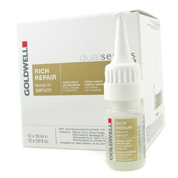 (Exclusive By Goldwell Dual Senses Rich Repair Leave-In Serum (For Dry, Damaged or Stress Hair )12x18ml/0.6oz)