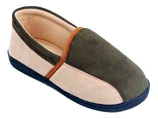 Nieuwe Starbay Merk Mens Faux Suede Gesloten Pantoffels Verkrijgbaar In 3 Kleuren Groen En Beige