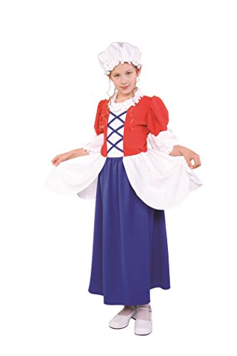 RG Costumes Child Deluxe Betsy Ross Costume