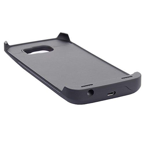 Lifeepro Samsung Galaxy S6 G9200 Batería Funda, 4200mAh Battery Case Protectora de Recargable Portátil Charging Cubierta con Interno Cargador Ultra Fina Carcasa para Samsung Galaxy S6 G9200 Negro