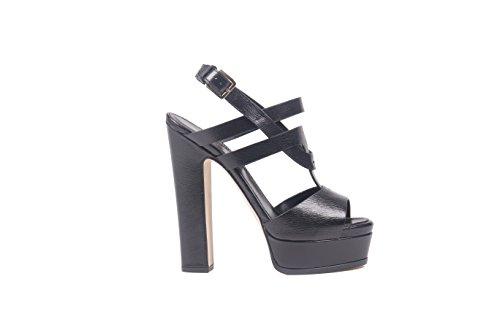 sergio-rossi-womens-a77580mca101-black-leather-sandals