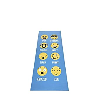 YOOMAT Children Yoga Mat Emoji Printed 2mm PVC Sports Tapete ...