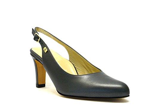 Vestir calzature para Sandalias de Valleverde antracita Mujer dqxgtq