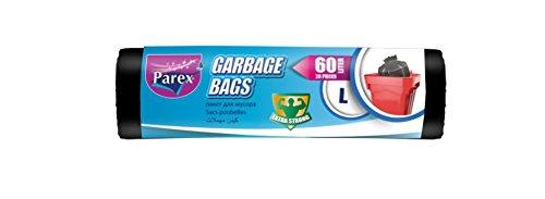 Parex 1909185 Rollo de 20 Bolsas de Basura Biodegradable 60 ...